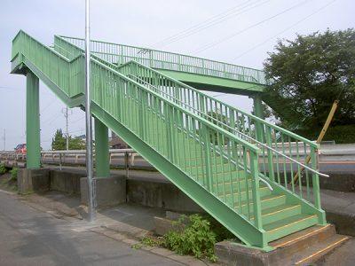 安八郡 結歩道橋1