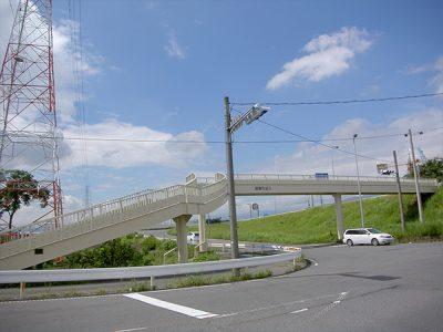 瑞穂市 呂久歩道橋1