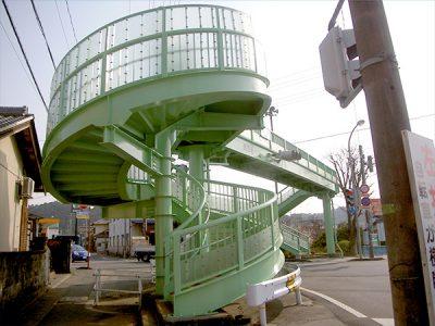 関市 桜ケ丘歩道橋1