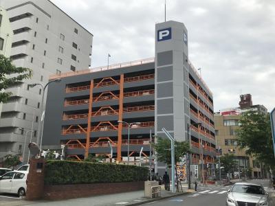 名古屋市 立体駐車場1