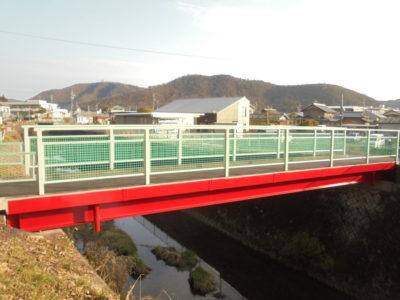 岐阜市 人道橋1